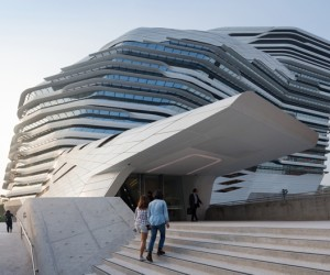 Jockey Club Innovation Tower by Zaha Hadid Architects