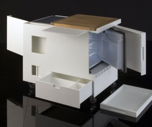Joe Colombos 1960s MiniKitchen Get an Update from Boffi