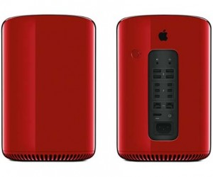 Jony Ive creates red Mac Pro for Product RED charity