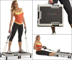 Journey Gym is briefcase-size portable gym to train all muscle groups