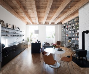 JRKVC renovates apartment in a former monastery