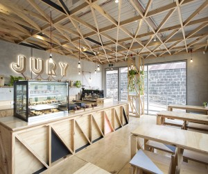Jury Cafe by Biasol: Design Studio, Melbourne