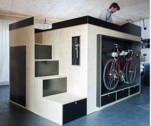 Kammerspiel: The Space-Saving Living Cube