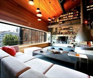 Karakoy Penthouse Loft in Istanbul