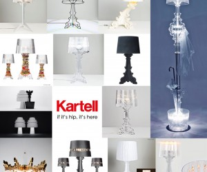Kartells Bourgie Lamp Reimagined by 14 Designers