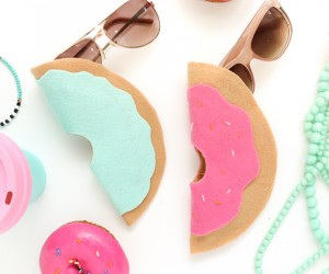 Keep Your Favorite Shades Safe with a Stylish DIY Sunglasses Case