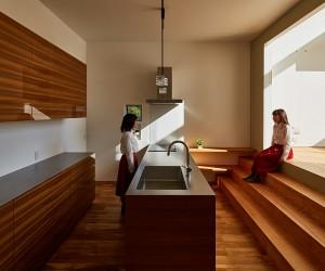 Keitaro Muto Architects Design a New Japan Three-Story Open House