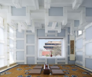 Kengo Kuma Refurbishes A Beijing Tea House