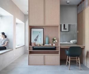 Kevin Apartment, Hong Kong  JAAK Studio
