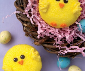 Kids Crafts with Baby Chicks