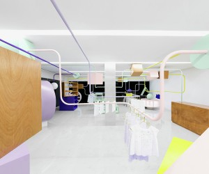 Kindo Childrens Boutique by Anagrama
