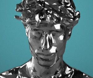 Kinect Portraits by Mike Pelletier
