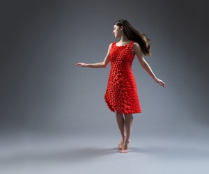 Kinematic Petals Dress by Nervous System