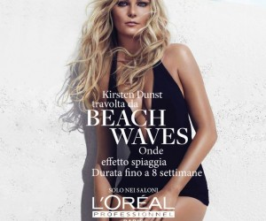 Kirsten Dunst Testimonial per Beach Waves by L'Oreal