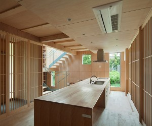 Kitchens with minimalist Japanese style