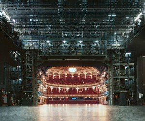 Klaus Frahm Captures Photos Of Theaters From The Stage