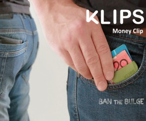 Klips Money clips - Ban the Bulge