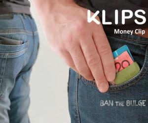Klips Money clips - Ban the Bulge