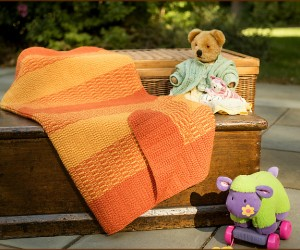 Knitted Stroller Blankets to Keep Baby Warm This Winter