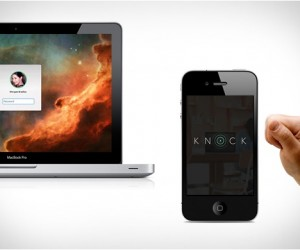 Knock to Unlock iPhone App Secures Your Mac