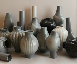 Kodai Iwamoto Turns Plastic Pipes Into Hand Blow Vases