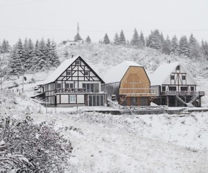 Kopaonik Mountain Home by 4of7 Architecture