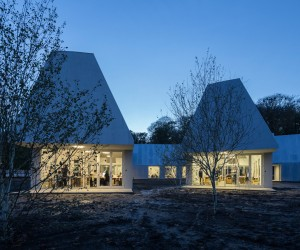 Krabbesholm Hgskole Extension by MOS Architects