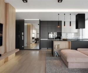 Krakow Apartment by Hi-Light Architects