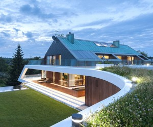 Krakows Edge House by Mobius Architecture