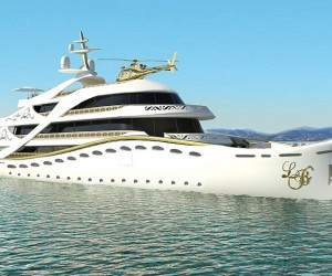 La Belle Concept Yacht by Lidia Bersani Luxury Design