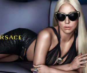 Lady Gaga for Versace Eyewear Spring 2014