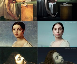 Lady Gaga Morphs Into Classic Paintings Via Video - A Comparative Look