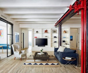 Lafayette Loft in New York  Lang Architecture