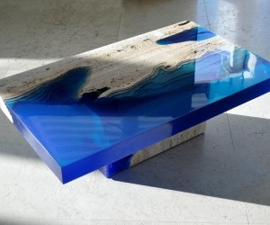 Lagoon Table by Alexander Chapelin