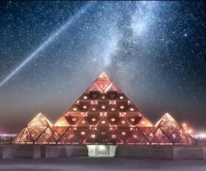 Lake of Dreams Breathtaking Timelapse Of Burning Man
