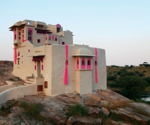 Accent Colors Uniquely Employed at Lakshman Sagar Resort