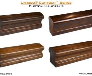 Lamboo Contour Series Custom Handrails