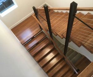 Lamboo Contour Series Custom Stair Treads