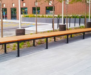 Lamboo Elements Exterior Benches