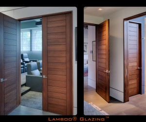 Lamboo Glazing Series Custom Residential Doors