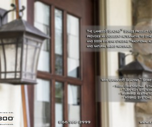 Lamboo Glazing Series