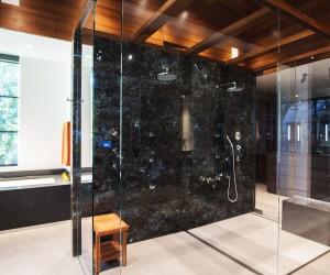 Lamboo Utilized in High End Master Bath