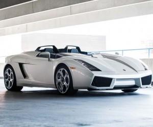 Lamborghini Concept S going up for auction