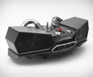 Lamborghini Exhaust Speaker