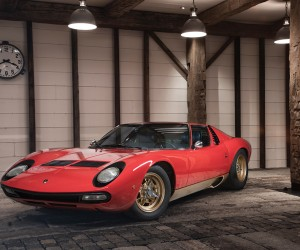 Lamborghini P400 Miura SV by Bertone goes up to auction