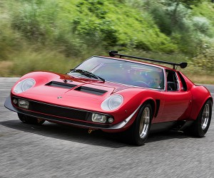 Lamborghini Restores The Iconic Miura SVR