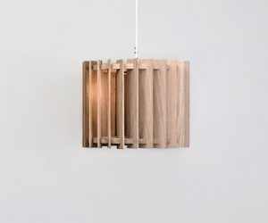 Lamel N3 Wooden Pendant Lamp by Samosa