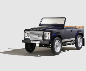 Land Rover Bespoke Defender Pedal Car