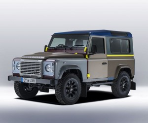Land Rover Creates Tailor-Made Defender For Paul Smith