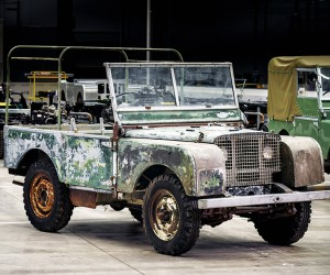 Land Rover Set To Restore Its Lost 1948 4x4 Prototype